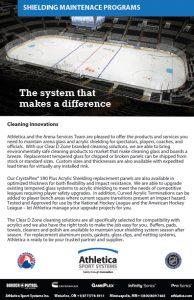 Arena Shielding Maintenance Program