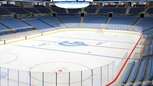 What is Hockey Rink Glass?