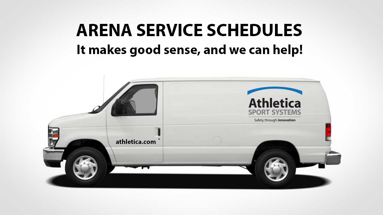 arena service schedules