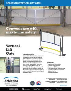 Sportster Vertical Lift Gate