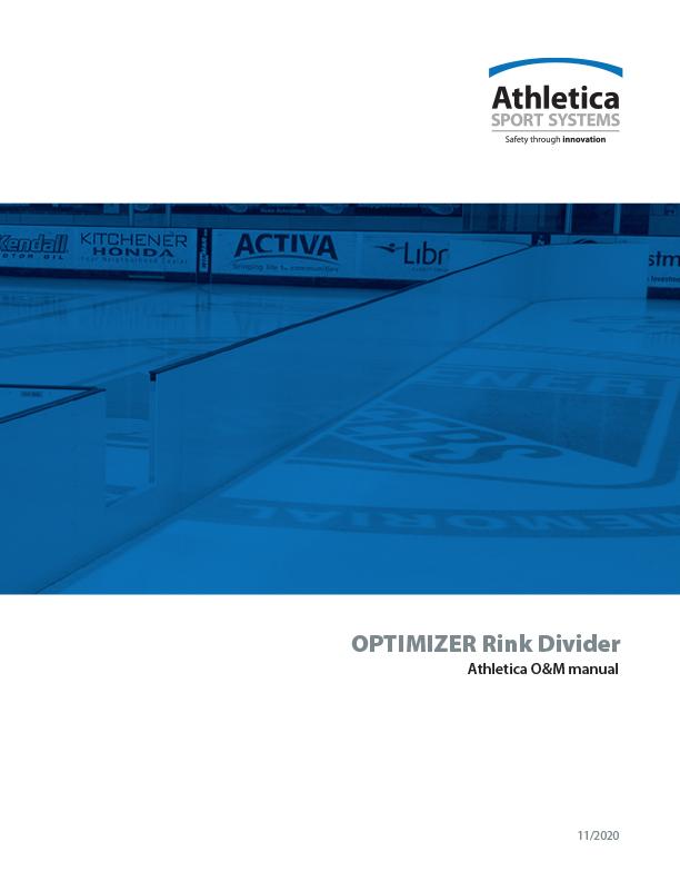 Optimizer Rink Divider O&M manual