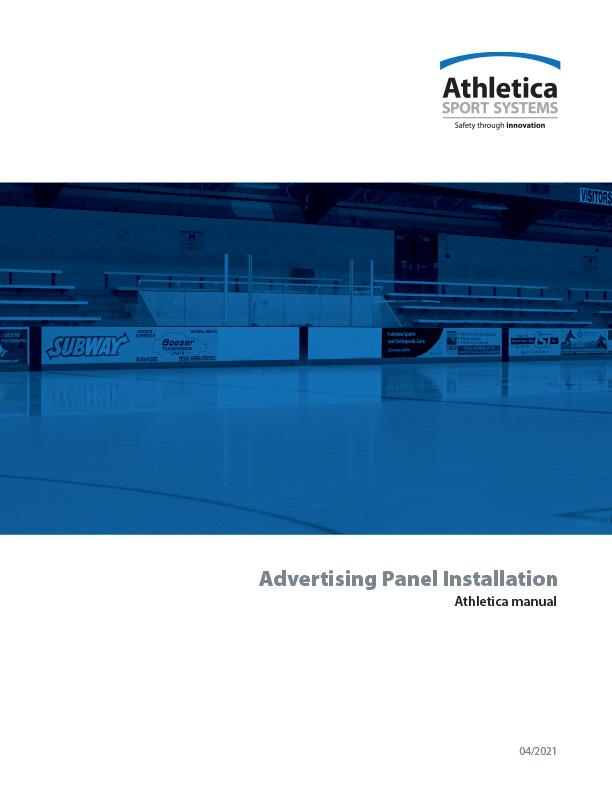 Advertising Panel Installation