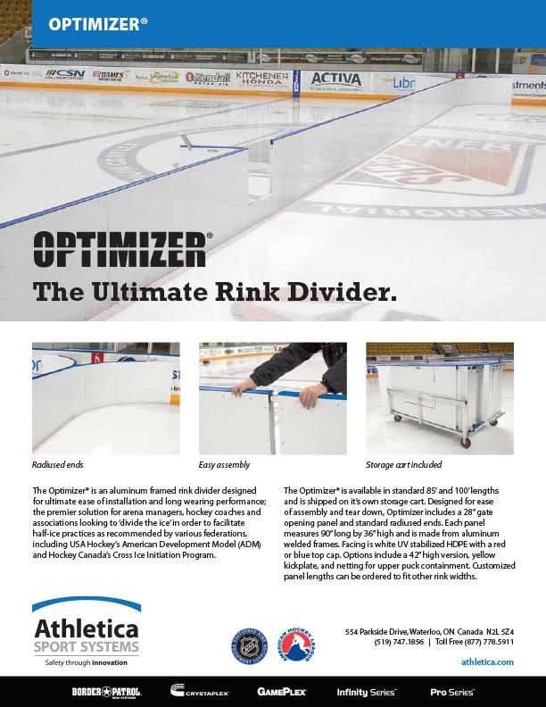 Optimizer Rink Divider